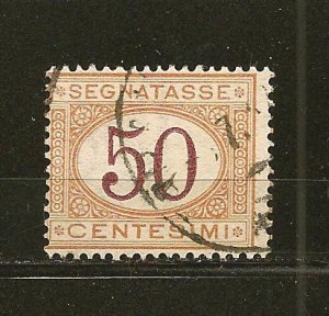 Italy J10 Postage Due Used