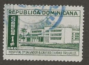 DOMINICAN REPUBLIC SC #  447    USED