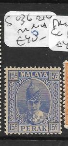 MALAYA PERAK   (PP2305B)   15C SG 114        MNH