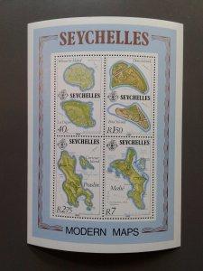 Seychelles 490a VF MNH souvenir sheet. Scott $ 4.00