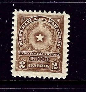 Paraguay J6 MLH 1913 issue