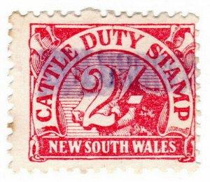 (I.B) Australia - NSW Revenue : Cattle Duty 2/-