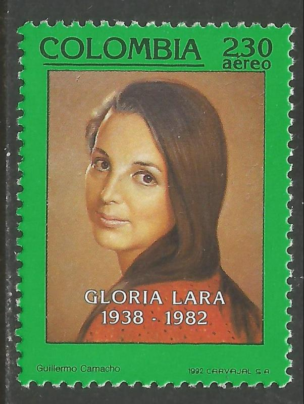 COLOMBIA C857 MNH CH1-81