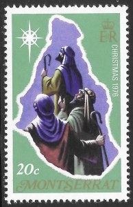 [21927] Montserrat Mint Never Hinged