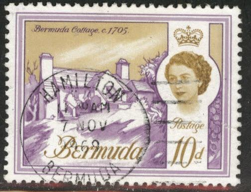 BERMUDA Scott 182A Used