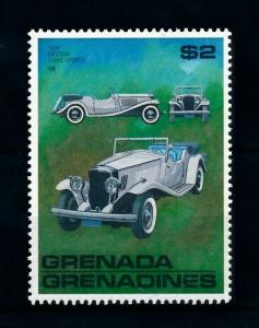 [100243] Grenada Grenadines 1988 Classic Cars 1954 Railton Light Sports  MNH