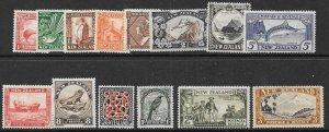 NEW ZEALAND SG577/90c 1936-42 DEFINITIVES MTD MINT