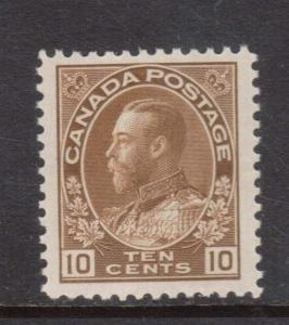 Canada #118 XF/NH **With Certificate**