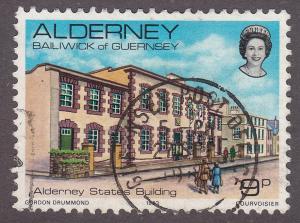 Alderney 3 Hinged 1983 States Buildings