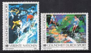 UN Vienna 84-85 Sports MNH VF