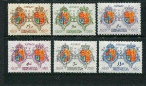 Bermuda #169-74 Mint