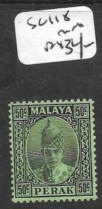 MALAYA PERAK  (P0107B)  50C  SG 118  MNH
