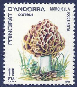 ANDORRA-SPANISH SCOTT 165