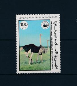 [53563] Mauritania 1978 Birds Oiseaux WWF Ostrich Hightest value from set MNH