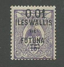 Wallis & Futuna Scott Catalog Number 29 Issued in 1922