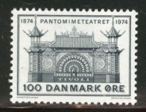 DENMARK  Scott 552 MNH** 1974 Pantomine Theater stamp