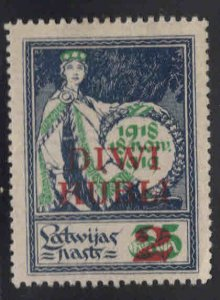Latvia Scott 88 MH*
