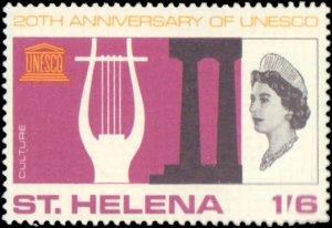 St. Helena #192-194, Complete Set(3), 1966, Hinged