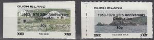 Gugh Island, Sc # UNK (1), MNH, 1953-1976