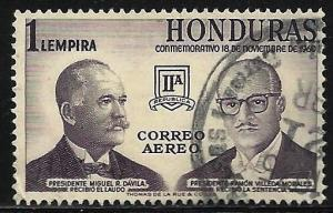 Honduras 1961 Air Mail Scott# C315 Used