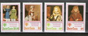 St. Lucia 473-476 MNH