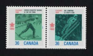 Canada 1153a MNH Olympic Winter Games, Skiing, Ski Jumping