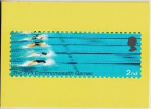 Great Britain. 2002 Friendly Games. PHQ Cards(5) Unused