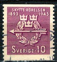 Sweden; 1943: Sc. # 342: O/Used Single Stamp
