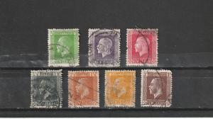 #144,151,154,160,162-64 New Zealand Used George V