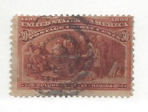 United States, 239, 30c Columbian Single, Used