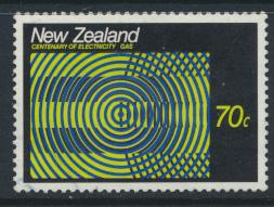 New Zealand SG 1446 SC# 892 Used  Electricity & Gas 1988