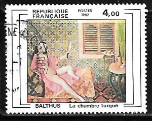 France 1833: 4f Turkish Chamber by Balthus, used, VF
