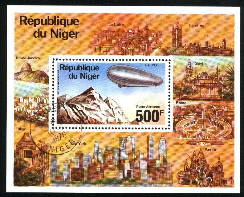 Niger   SS       VF 1976 PD