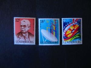 Luxembourg #830-32 Mint Never Hinged- (CZ9) WDWPhilatelic!