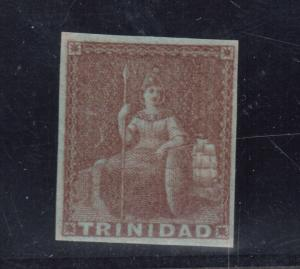 Trinidad #1 Very Fine Never Hinged With Perfect Gum