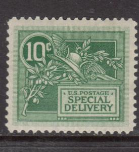 USA #E7 Extra Fine Mint Barely Hinged