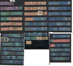 Colombia Incredible Lot of Earlies, 260+ Stamps, Hours and hours of Fun (11dvu)