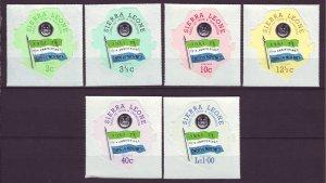 J24481 JLstamps 1971 sierra leone mnh set #416-21 ovpt,s flags