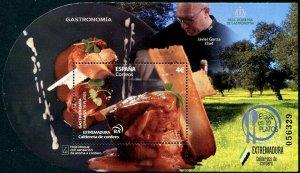 HERRICKSTAMP NEW ISSUES SPAIN Gastronomy 2020 S/S