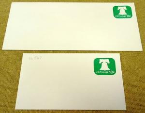 U567, 10c U.S. Postage Envelope qty 2