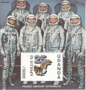Uganda  MNH Scott # 1265 Souvenir Sheet  SPACE Value $ 10.50  US $$