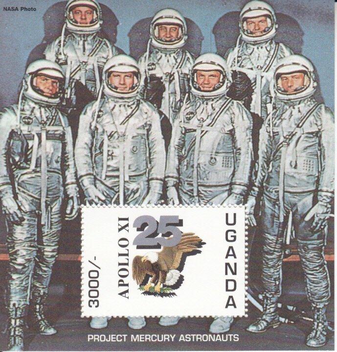 Uganda  MNH Scott # 1265 Souvenir Sheet  SPACE Value $ 10.50  US $$