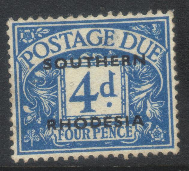 SOUTHERN RHODESIA 1951 POSTAGE DUE SGD5 M/M