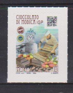 2021 Italy Modica Chocolate (Scott NA) MNH