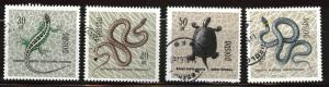 Poland Scott 1134-1138 Used CTO short stamp set