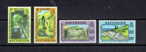 ASCENSION ISLAND - 1977 MARINE BUILT WATER SUPPLY - SCOTT 221 TO 224 - MNH