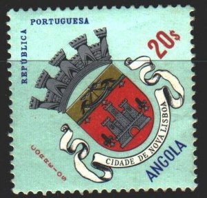Angola. 1963. 465 from the series. Coat of arms of New Lisbon. MVLH.
