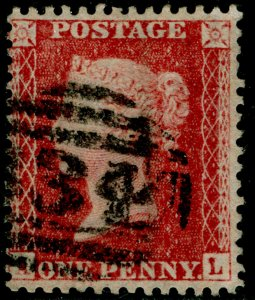 SG40, 1d rose-red PLATE 48, LC14, FINE USED. Cat £18.