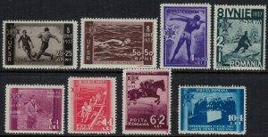 Romania #B69-76*  CV $16.85