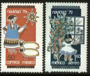 MEXICO 1193, C623 Christmas Holidays 1979 MINT, NH. VF.